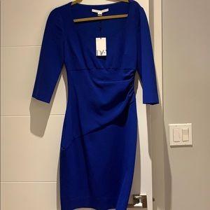 Diane Von Furstenberg Royal Blue Dress-never worn!